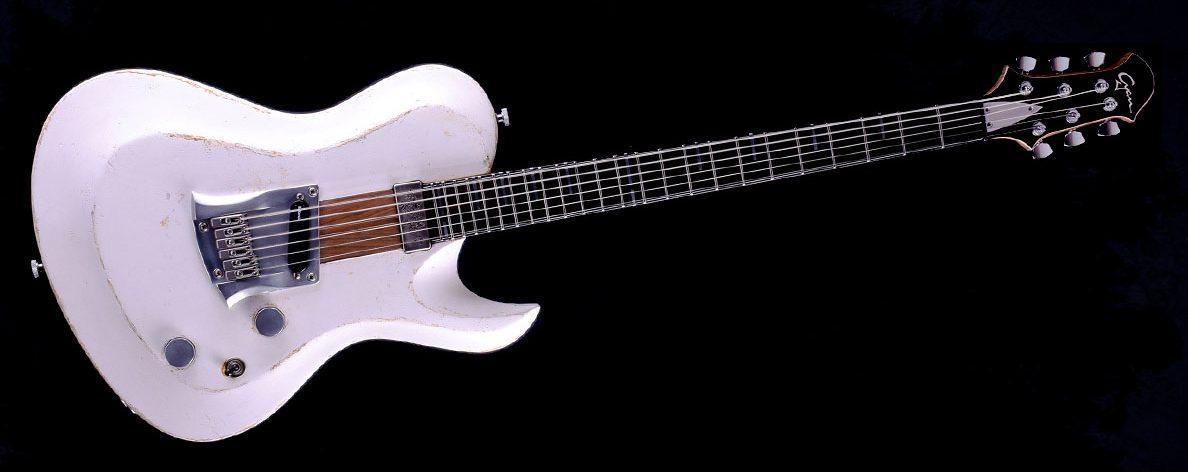 "Hellcaster - 29"" Bariton Gitarre SC - Players White"