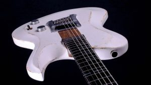 "Hellcaster - 29"" Bariton Gitarre SC - Players White - Body"