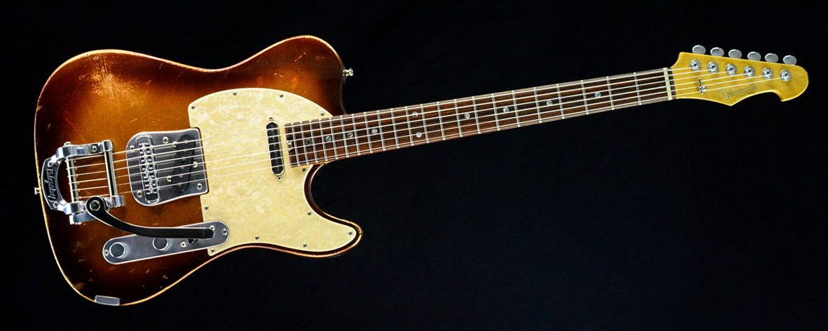 Versatile Golden Bee T-Style Custom Guitar