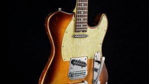 Versatile Golden Bee T-Style Custom Guitar - Body