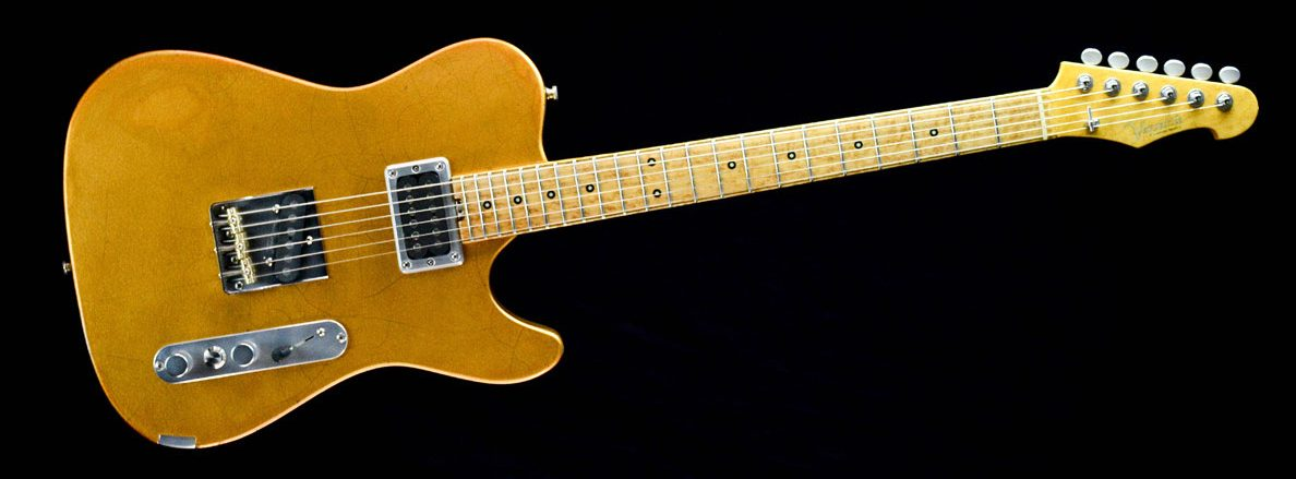 Versatile Golden Eye im Custom Gitarren Shop