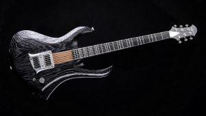 """Zodiac - 29"""" Bariton Gitarren - Blackburst - Frontansicht"""