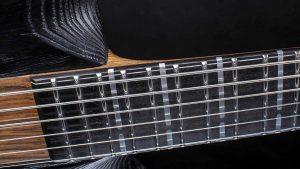 """Zodiac - 29"""" Bariton Gitarren - Blackburst - Griffbrett"""