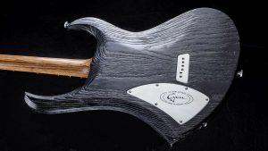 "Zodiac - 29"" Bariton Gitarren - Blackburst - Body Rückansicht"