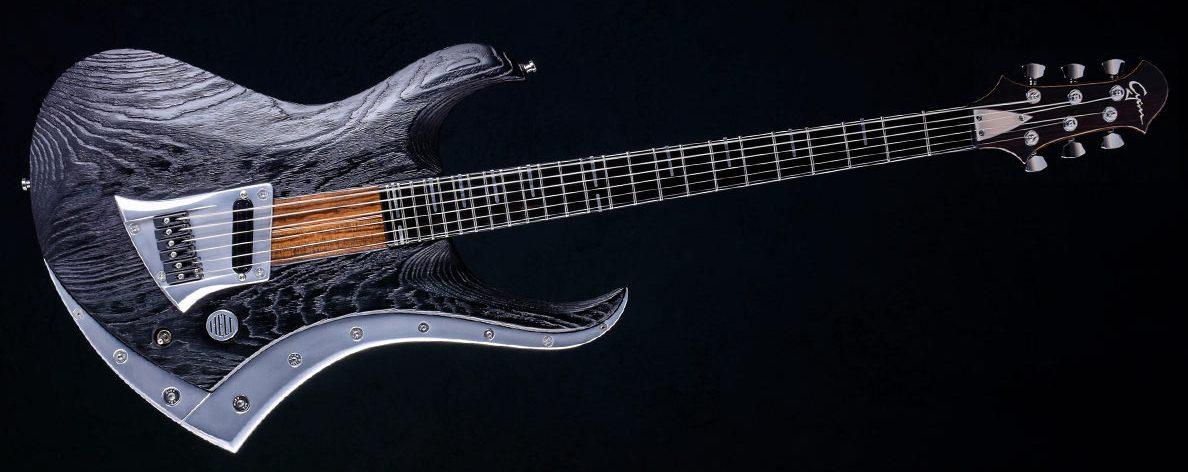 "Zodiac Excalibur - 29"" Bariton Gitarre - Blackburst"