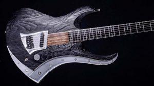 "Zodiac Excalibur - 29"" Bariton Gitarre - Blackburst - Body, Schlagbrett, Alu-Inlay"