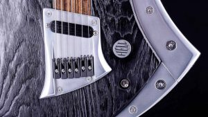 "Zodiac Excalibur - 29"" Bariton Gitarre - Blackburst - Brücke, Elektronik, Alu-Inlay"