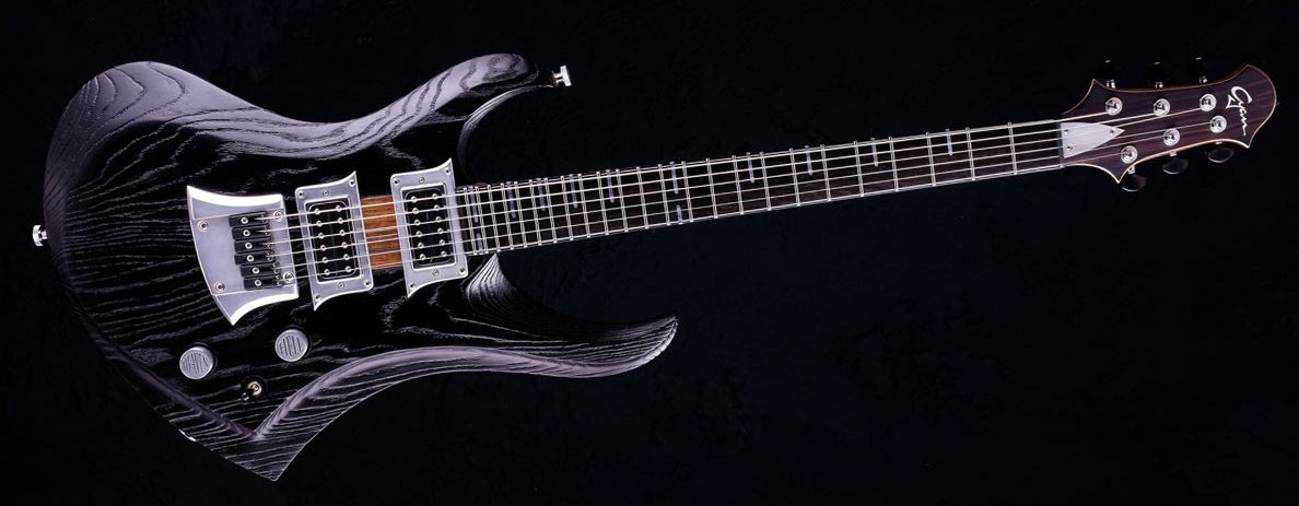 Zodiac - Solid Body Gitarre - Blackburst Custom Guitar