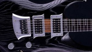 Zodiac - Blackburst Custom Guitar - Schlagbrett, Pickup, Brücke
