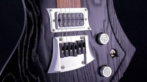 Zodiac - Blackburst - Custom Guitar - Pickup, Brücke