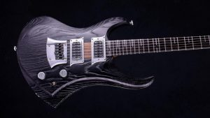 Zodiac - Blackburst - Custom Guitar - Body