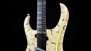 Zodiac Lucifer - Solid Body Custom Guitar - Hals