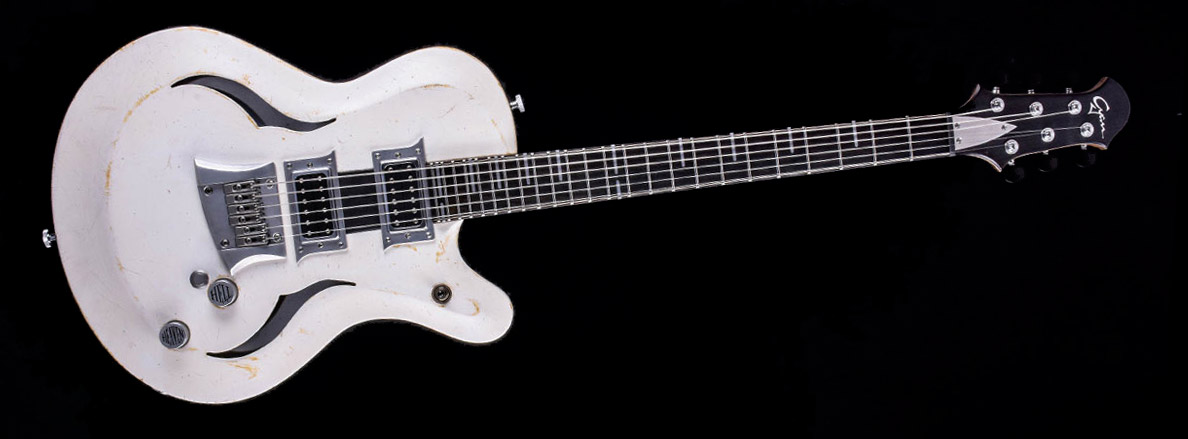 Breed - Players White im Custom Gitarren Shop