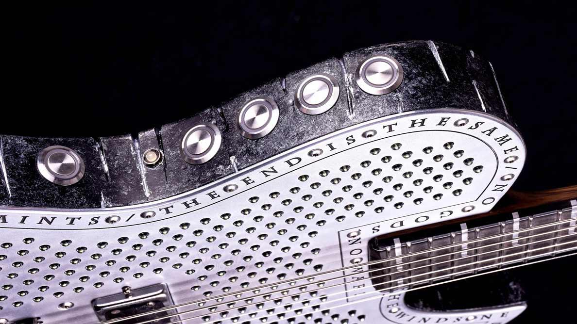 Hellcaster Bariton Empyrean - LEDs - Guitar Gallery