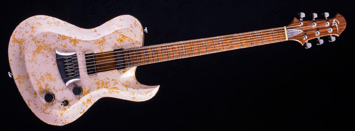 Hellcaster Double Dragon im Custom Gitarren Shop