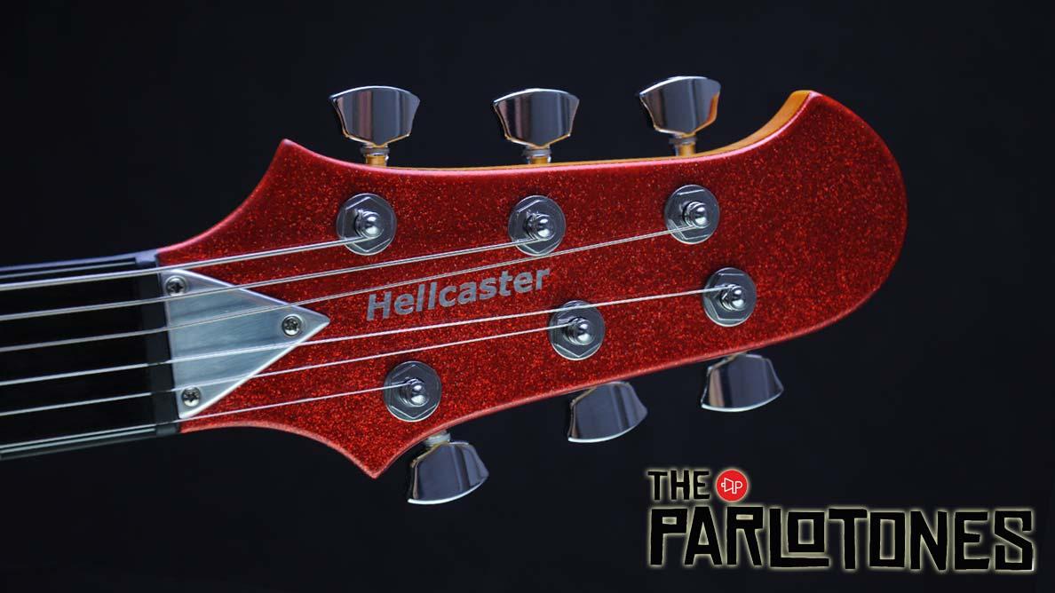 Hellcaster - Parloguitar - Parlotones - Kopfplatte
