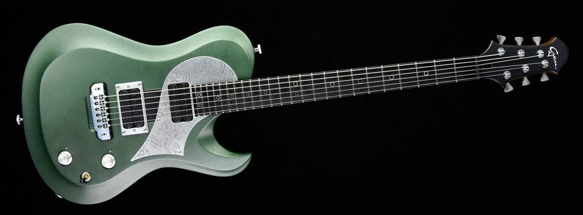 Ultimate Green Dragon im Custom Gitarren Shop