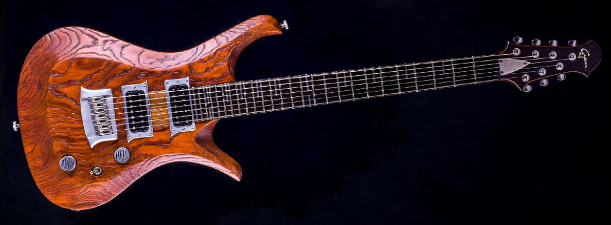 V7 - 7-String Bariton Gitarre - Tobaccoburst | IN STOCK