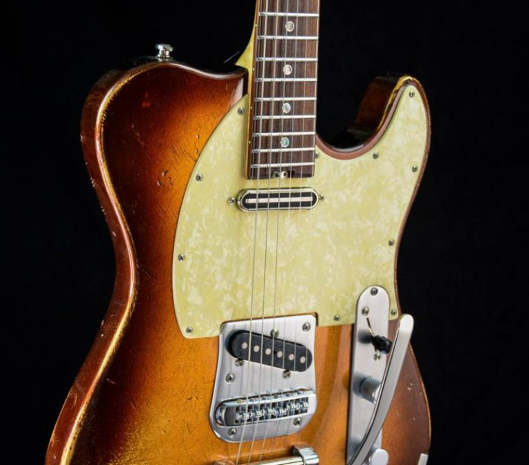Versatile - Golden Bee - T-Style Custom Gitarre