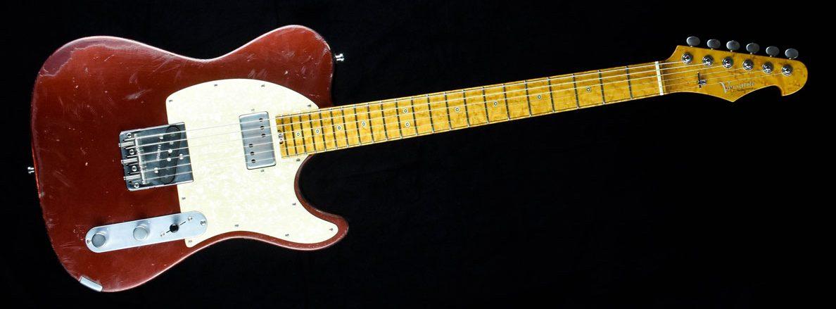 Versatile Red Candy T-Style Gitarre im Custom Gitarren Shop