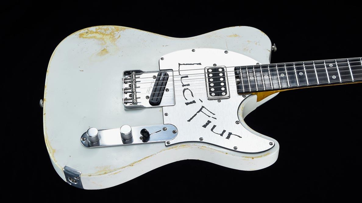 Versatile Lucifiur T-Style Guitar Gallery - Body