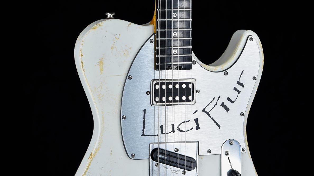 Versatile Lucifiur T-Style Guitar Gallery - Brücke
