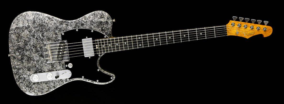 Versatile Silver Camo T-Style Gitarre im Custom Gitarren Shop