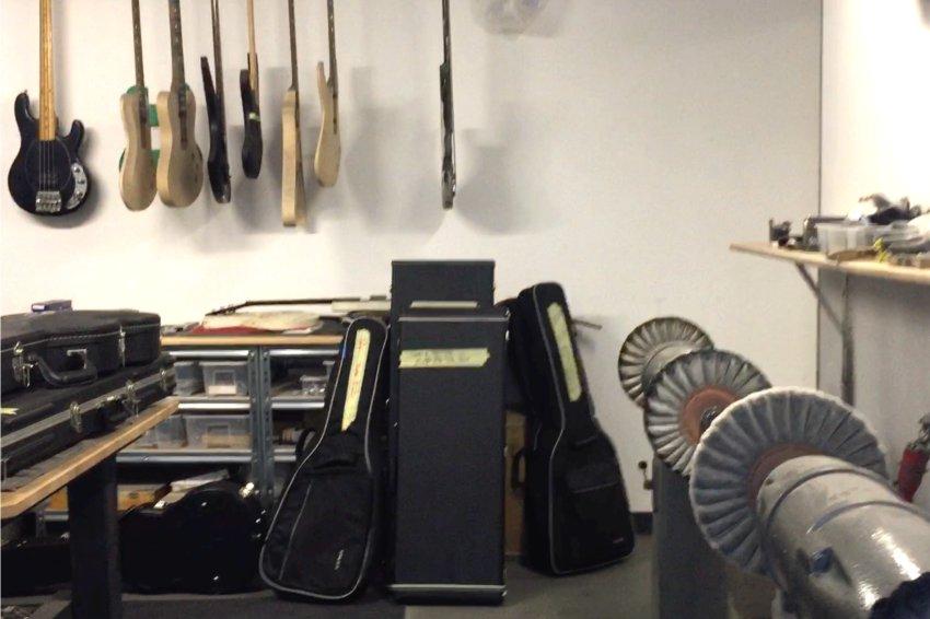 Cyanguitars Gitarrenwerkstatt