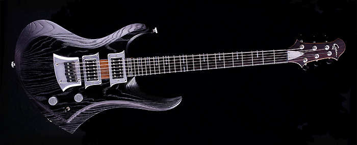 Zodiac - Blackburst - Custom Gitarre für Rock und Metal