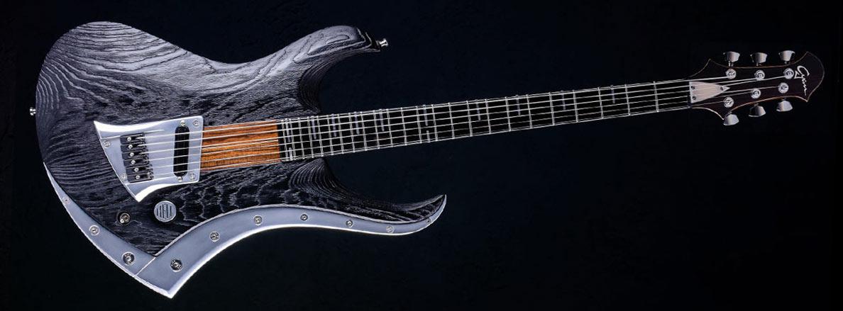 Zodiac Excalibur Bariton Gitarre - Blackburst