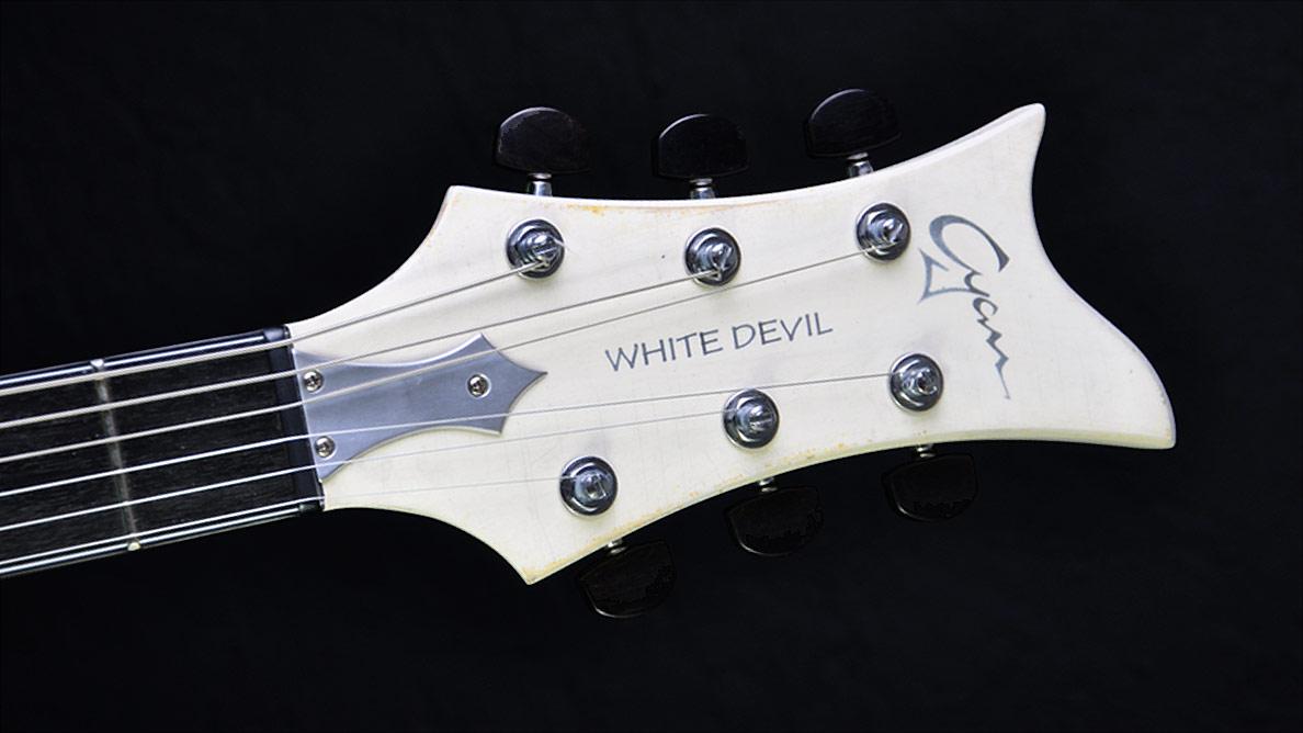 Breed - White Devil - Kopfplatte