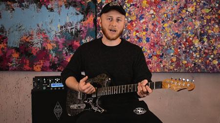 Jakob Schulze - Album Produktion mit der Versatile Silver Camo