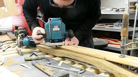 Making Of A Cyan Custom Guitar