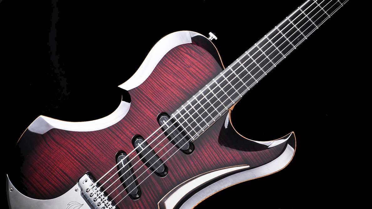 Predator Bariton - Custom Guitar Gallery - Bridge