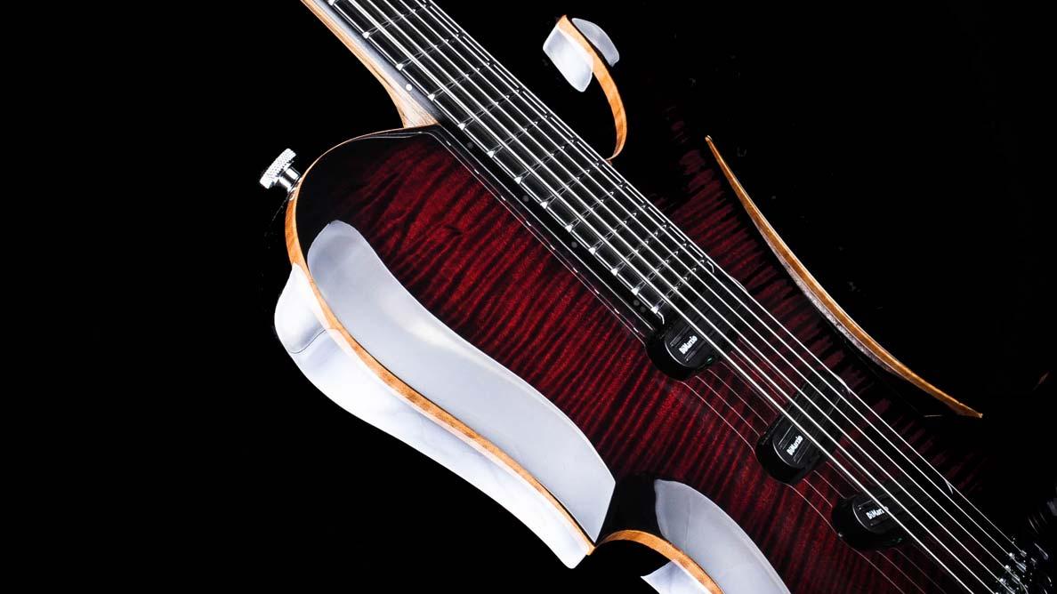 Predator Bariton - Custom Guitar Gallery - Body Sideview