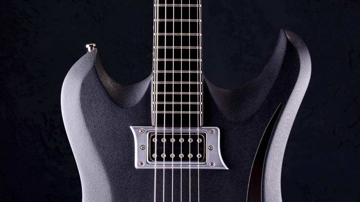 "Raven Bariton - 29"" Mensur - Gitarren Galerie - Brücke"