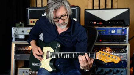 Gitarrensounds Versatile Green Classic - Bassel Hallak