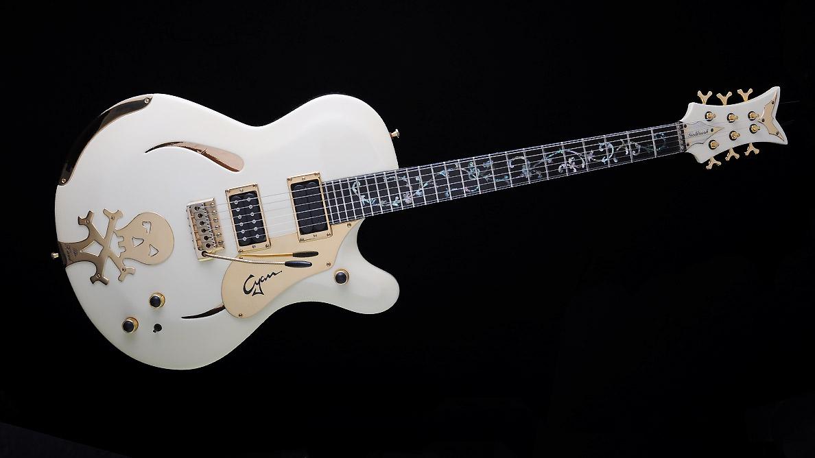 Farin Urlaub Custom Guitar Gallery - White Hawk