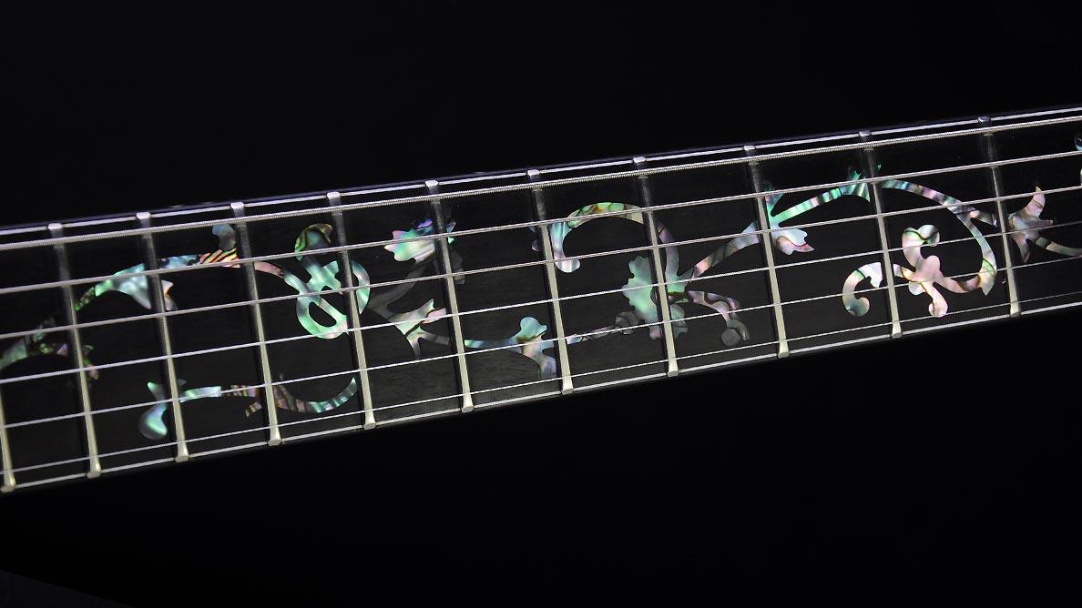 Farin Urlaub Custom Guitar Gallery - White Hawk - Hals