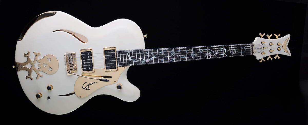 Farin Urlaub Custom Guitar Gallery - White Hawk