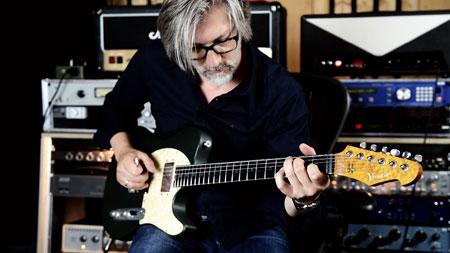Versatile Green Classic T-Style Guitar - Bassel Hallak