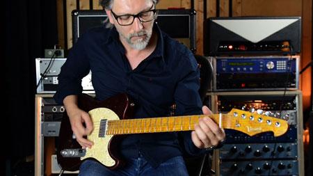 Versatile Red Candy T-Style Guitar - Bassel Hallak