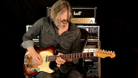 Versatile Golden Bee T-Style Guitar - Bassel Hallak