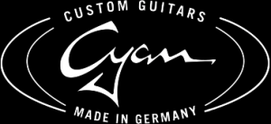 cyan custom guitars Logo